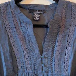 Gorgeous cotton and silk Willi Smith blouse